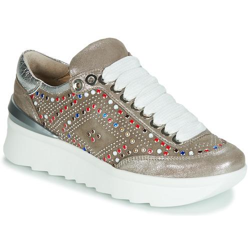 Schoenen Dames Lage sneakers Fru.it 5357-008 Beige / Pailletten