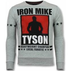 Textiel Heren Sweaters / Sweatshirts Local Fanatic Mike Tyson Iron Mike Grijs