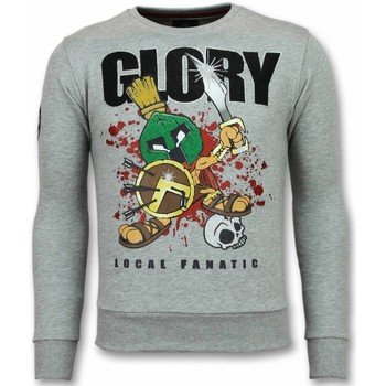 Textiel Heren Sweaters / Sweatshirts Local Fanatic Glory Marvin Spartacus Grijs