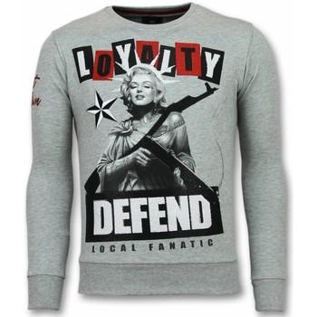 Textiel Heren Sweaters / Sweatshirts Local Fanatic Marilyn Trui - Monroe Heren Sweater - Truien Mannen 35