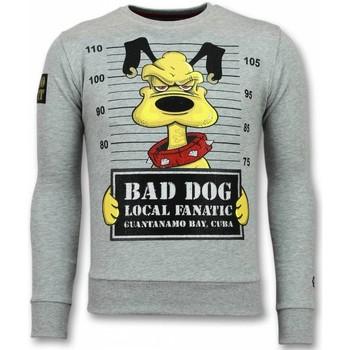 Textiel Heren Sweaters / Sweatshirts Local Fanatic Bad Dog  Trui - Cartoon Heren Sweater 35