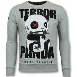 Textiel Heren Sweaters / Sweatshirts Local Fanatic Panda Trui - Terror Heren Sweater - Mannen Truien 35