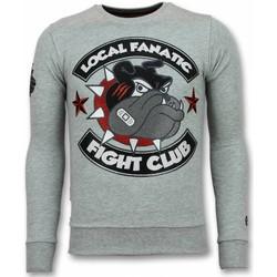 Textiel Heren Sweaters / Sweatshirts Local Fanatic Fight Club Bulldog Grijs