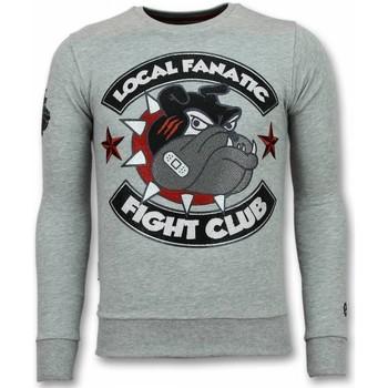 Textiel Heren Sweaters / Sweatshirts Local Fanatic Fight Club Trui - Bulldog  Heren Sweater - Truien Mannen 35