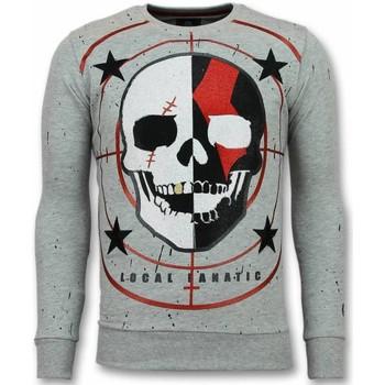 Textiel Heren Sweaters / Sweatshirts Local Fanatic Skull Trui - God of War Heren Sweater 35