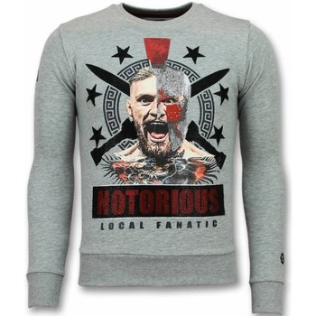 Textiel Heren Sweaters / Sweatshirts Local Fanatic Notorious Mcgregor Warrior Grijs