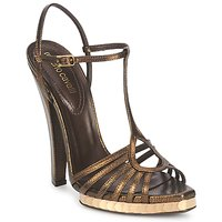 Schoenen Dames Sandalen / Open schoenen Roberto Cavalli QDS627-PM027 Brons