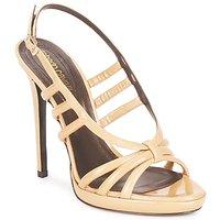 Schoenen Dames Sandalen / Open schoenen Roberto Cavalli QDS626-PL028 Beige