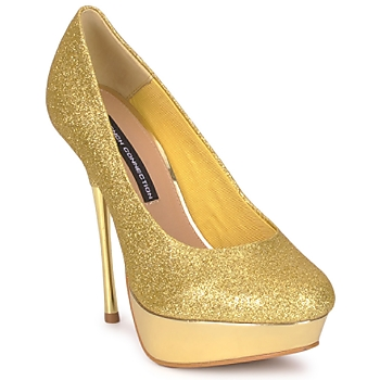 Schoenen Dames pumps French Connection JEZABEL Goud