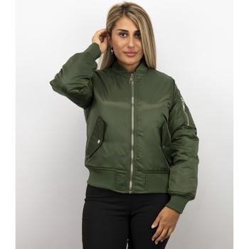 Textiel Dames Wind jackets Matogla Bomberjack - BomberJas - Bomber Jacket - Blauw