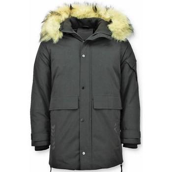 Textiel Heren Parka jassen Enos Winterjas Heren - Parka jas - Gewatteerde Jas - Lange 38