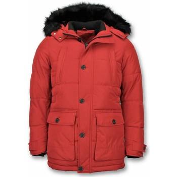 Textiel Heren Parka jassen Enos Heren Winterjassen- Winterjas Mannen - Warme Winterjas 8