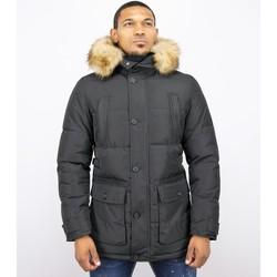 Textiel Heren Dons gevoerde jassen Enos Heren Winterjassen- Winterjas Mannen - Warme Winterjas 38