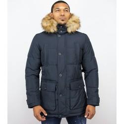 Textiel Heren Dons gevoerde jassen Enos Heren Winterjassen - Winterjas Mannen - Warme Winterjas 19