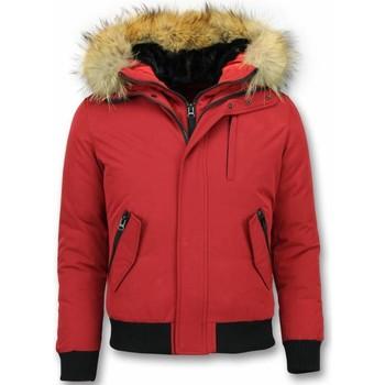 Textiel Heren Wind jackets Enos Korte Winterjas - Winterjas Kopen - met Bontkraag 8