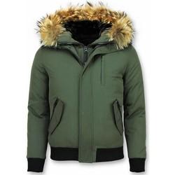 Textiel Heren Wind jackets Enos Korte Winterjas - Winterjas Kopen - met Bontkraag 25