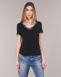 Textiel Dames Tops / Blousjes Morgan DMINOL Zwart