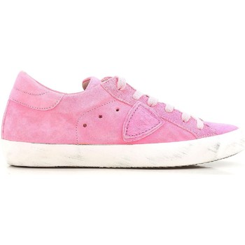 Schoenen Dames Lage sneakers Philippe Model CLLD XR04 Rosa acceso