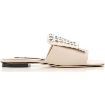 Schoenen Dames slippers Sergio Rossi A80380 MFN205 9179 Nudo