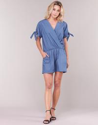 Textiel Dames Jumpsuites / Tuinbroeken Molly Bracken MOLLIOTETTE Blauw