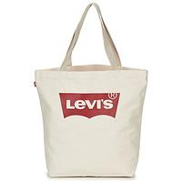 Tassen Dames Handtassen lang hengsel Levi's Batwing Tote W Ecru
