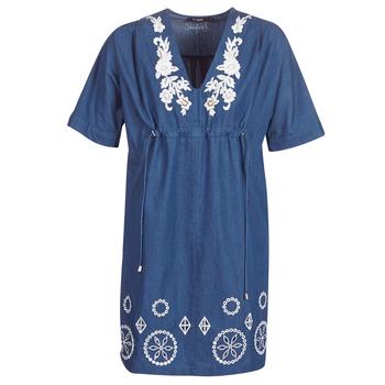 Textiel Dames Korte jurken Desigual ELECTRA Marine