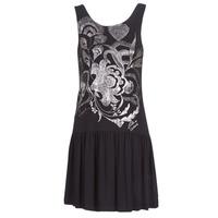 Textiel Dames Korte jurken Desigual OMAHAS Zwart
