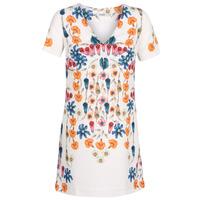 Textiel Dames Korte jurken Desigual CORK Wit