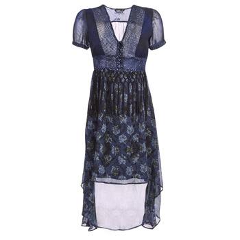 Textiel Dames Lange jurken Desigual MINALI Blauw