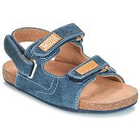 Schoenen Jongens Sandalen / Open schoenen Mod'8 KORTIS Blauw / Jeans