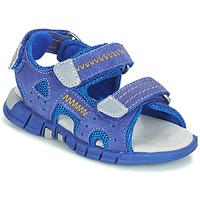 Schoenen Jongens Sandalen / Open schoenen Mod'8 TRIBATH Blauw