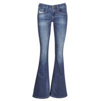 Textiel Dames Bootcut jeans Diesel EBBEY Blauw / 089am