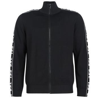Textiel Heren Vesten / Cardigans Diesel K KER A Zwart