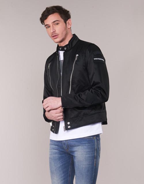 Textiel Heren Wind jackets Diesel J CORELI Zwart