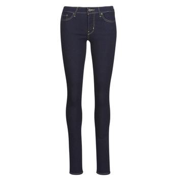 Textiel Dames Skinny Jeans Levi's 711 SKINNY Thee / Negen