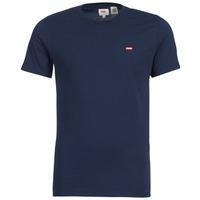 Textiel Heren T-shirts korte mouwen Levi's SS ORIGINAL HM TEE Marine