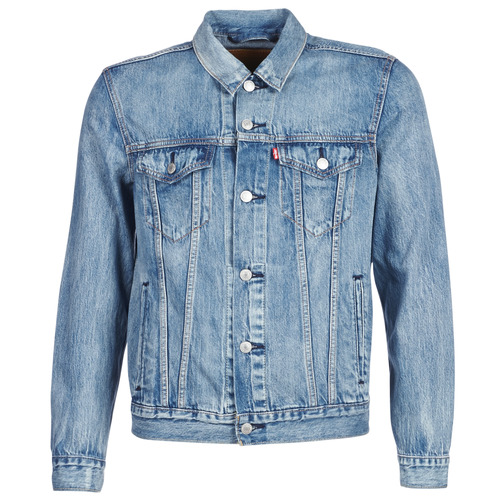 Textiel Heren Spijker jassen Levi's THE TRUCKER JACKET Killebrew / Trucker