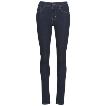 Textiel Dames Skinny Jeans Levi's 721 HIGH RISE SKINNY Thee / Negen