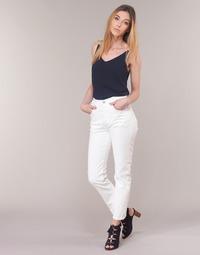 Textiel Dames Straight jeans Levi's 501 CROP In / Thee / Wolken