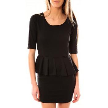 Textiel Dames Korte jurken Tcqb Robe Moda Fashion Noir Zwart