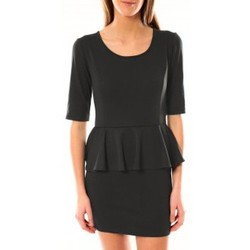 Textiel Dames Korte jurken Tcqb Robe Moda Fashion Anthracite Grijs