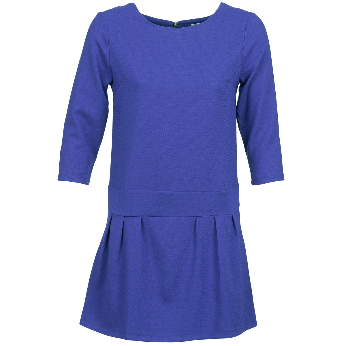 Betty London korte jurk candeur blauw