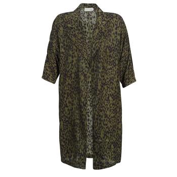 Textiel Dames Trenchcoats See U Soon GARAGA Kaki / Zwart