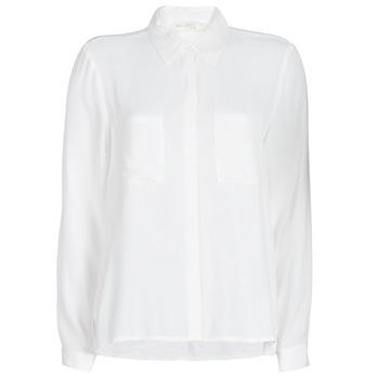Textiel Dames Overhemden See U Soon GARAGARE Wit