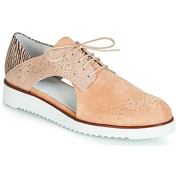 Schoenen Dames Derby Regard RIXULO V1 VEL ROSE Roze