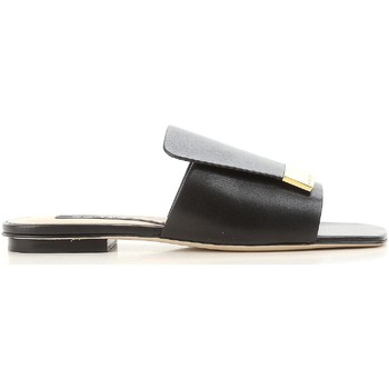 Schoenen Dames slippers Sergio Rossi A80380 MNAN07 1000 nero