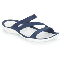 Schoenen Dames slippers Crocs SWIFTWATER SANDAL W Marine