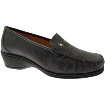 Schoenen Dames Mocassins Calzaturificio Loren LOK3992gr grigio