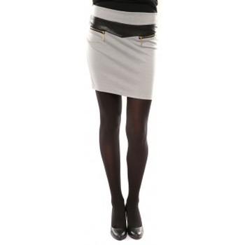 Textiel Dames Rokken Nina Rocca Jupe J.X Fashion Gris Grijs