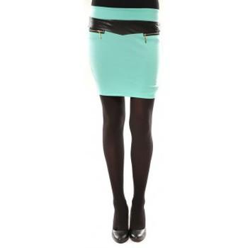 Textiel Dames Rokken Nina Rocca Jupe J.X Fashion VERT Blauw